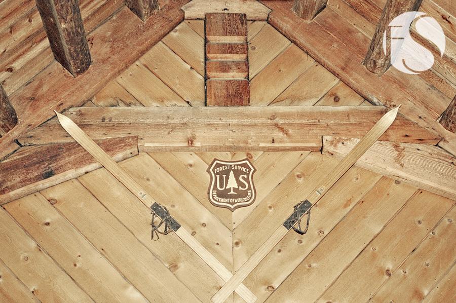 antique skis