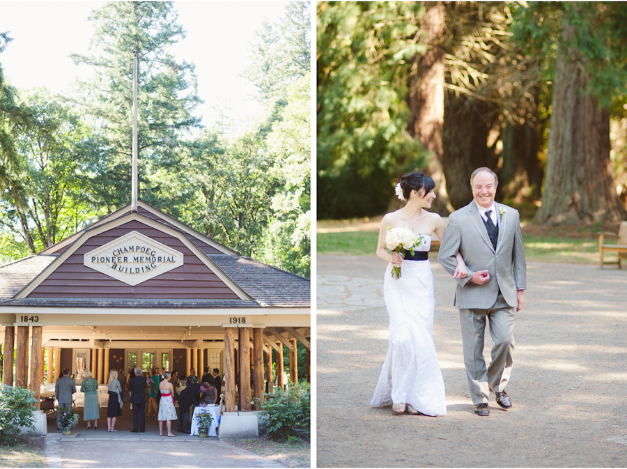 champoeg state park ecotrust wedding
