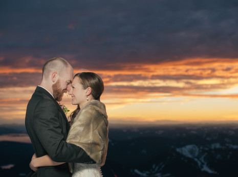 Mt. Hood Silcox Hut Wedding