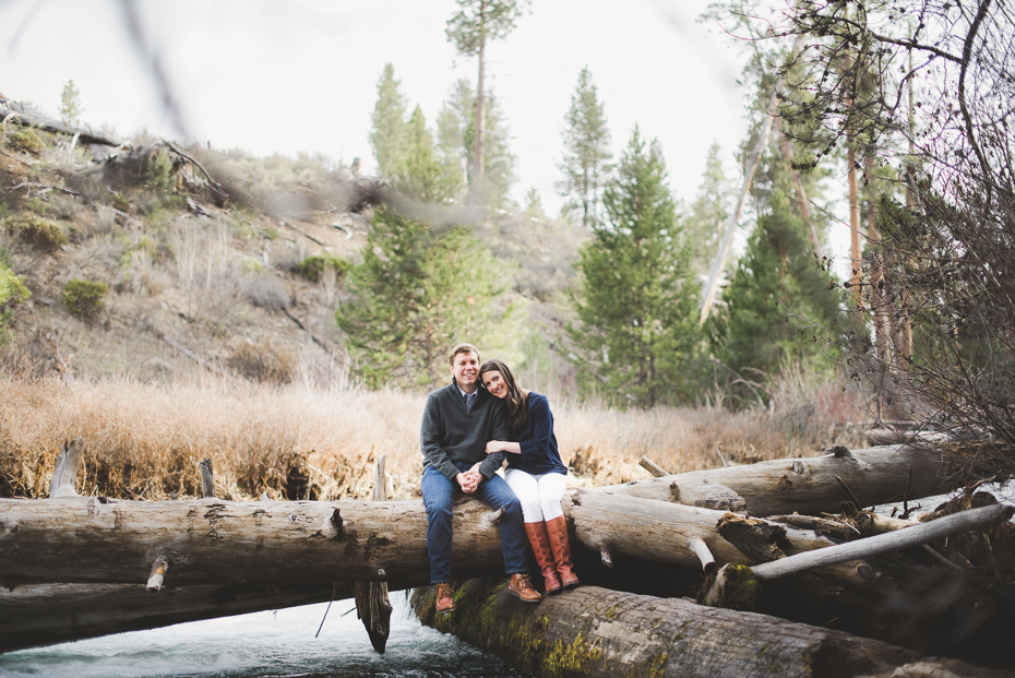 Mt. bachelor oregon engagement photos