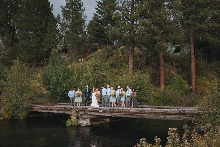Meredith Luke House On Metolius Wedding Portland