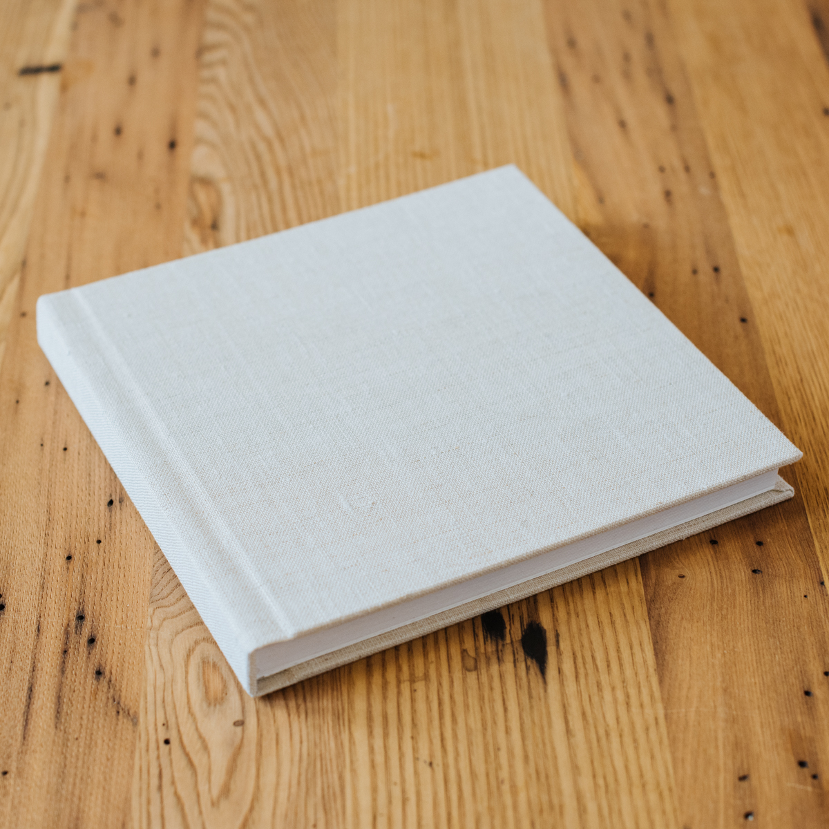 Signature Album with Linen Cover