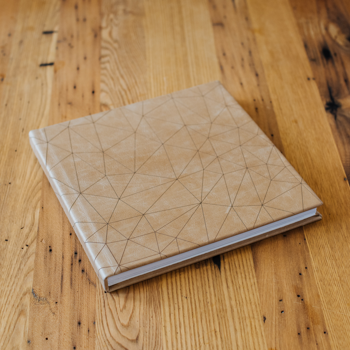 Signature Album with Leather Cover