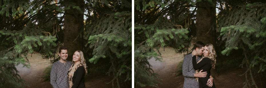 123 hoyt arboretum portland engagement