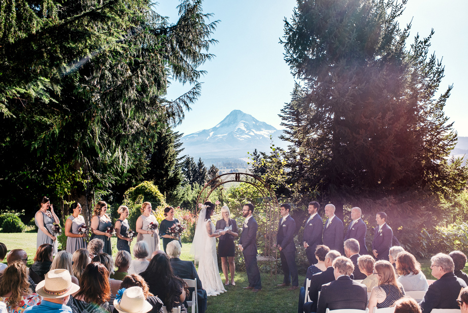 100 mount hood organic farms wedding with masks